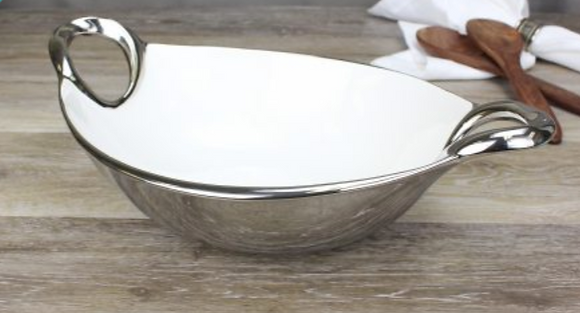 Lili Medium Salad bowl w/ Handles
