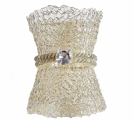 Mesh Nickle Napkin rings