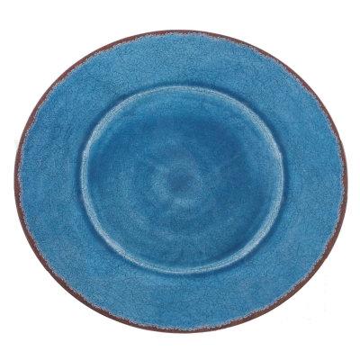Round melamine platter