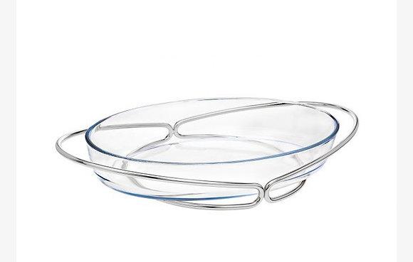 Nickel Oval Infinity Baker