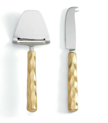 Truro Gold Cheese Shaver and Knife