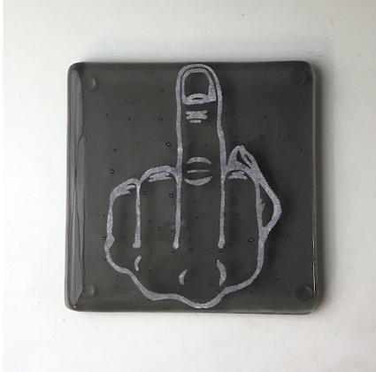 Middle Finger Trivet