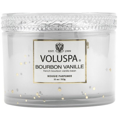 Voluspa Bourbon Vanille  Candle