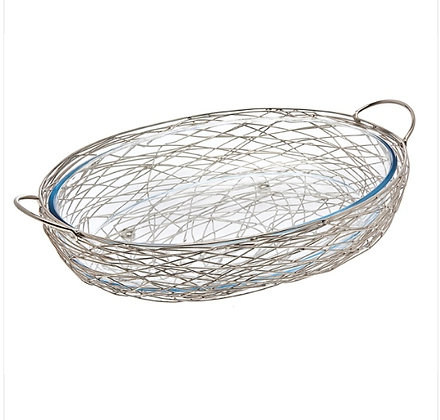Silver Nest Oval Oven toTable