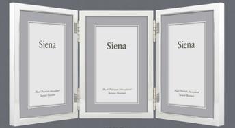 Silver Triple Frame