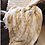 Thumbnail: Blonde Mink  Faux Fur Throw