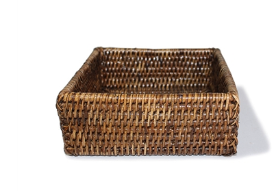 Rattan Lunch napkin holder