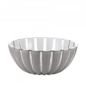 Medium acrylic striped bowl