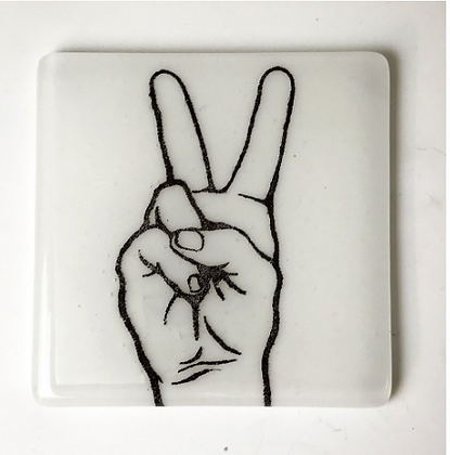 Peace Sign Trivet