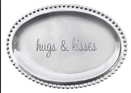 Hugs and Kisses tray