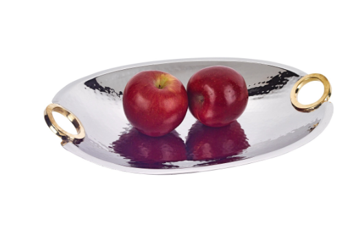 Rings oval bowl