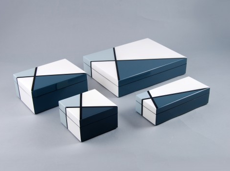Deco lacquer boxes