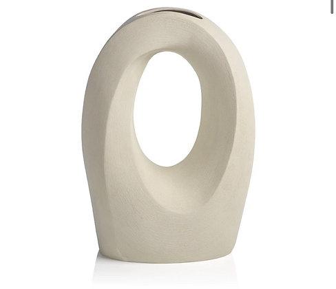 Ivory Manzanillo Porcelain Vase - Large