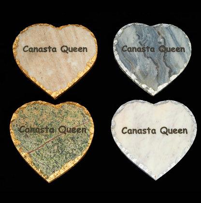 Canasta Queen Coasters