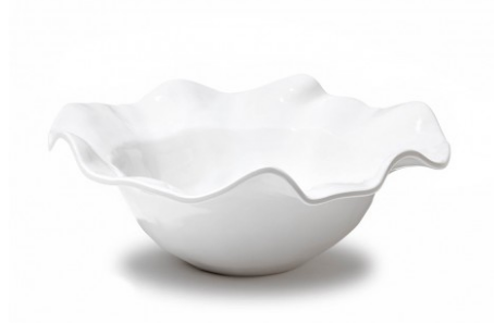 Vida Havana Large Wave Melamine Bowl