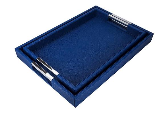 Rectangle Shagreen Trays