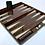 Thumbnail: Brown Wood Laquer Backgammon
