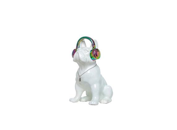 Dog w Headphones