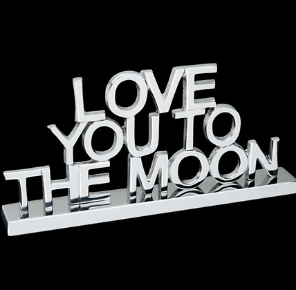 Love You to the Moon - Inspirational saying