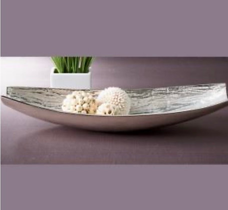 Textured Oval Bowl