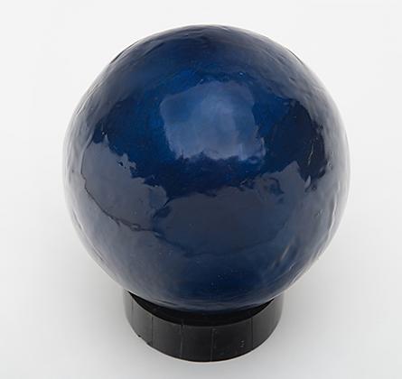 Dark Blue Capiz Balls