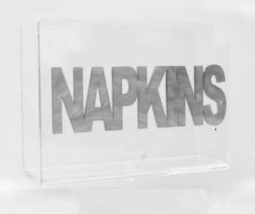 Lucite Napkin Holder