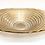 Thumbnail: Ribbon Bowl-Gold or Silver