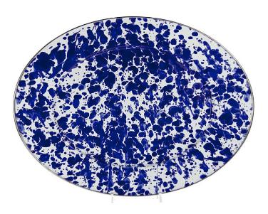 Oval Enamel Platter