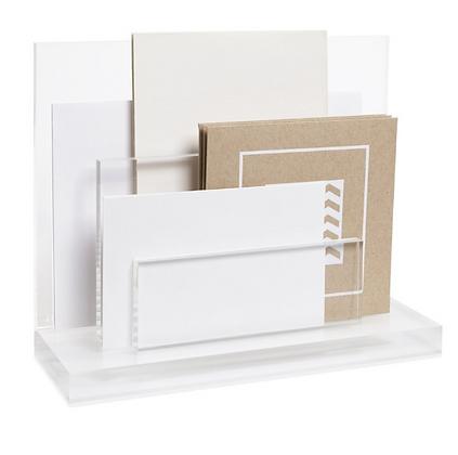Acrylic Mail Organizer