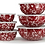 Thumbnail: Enameled nesting bowls - set of 3 w/ lids