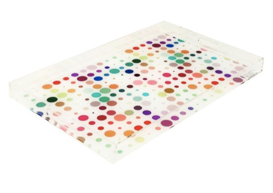 Mod Confetti Acrylic Tray