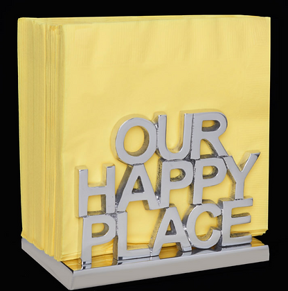 Our Happy Place - Napkin Holder