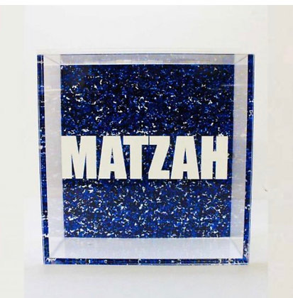 Acrylic Matzah Holder