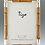 Thumbnail: Bamboo and Silver 4 x 6 Frame