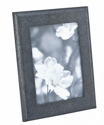 Gray Shagreen Frame