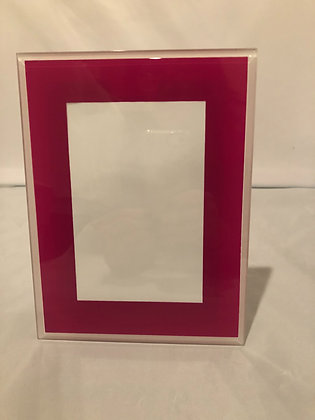 Hot pink Mia frame4 x 6