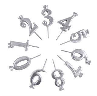 Number Candle Holder Set