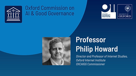 Oxford Commission on AI & Good Governance