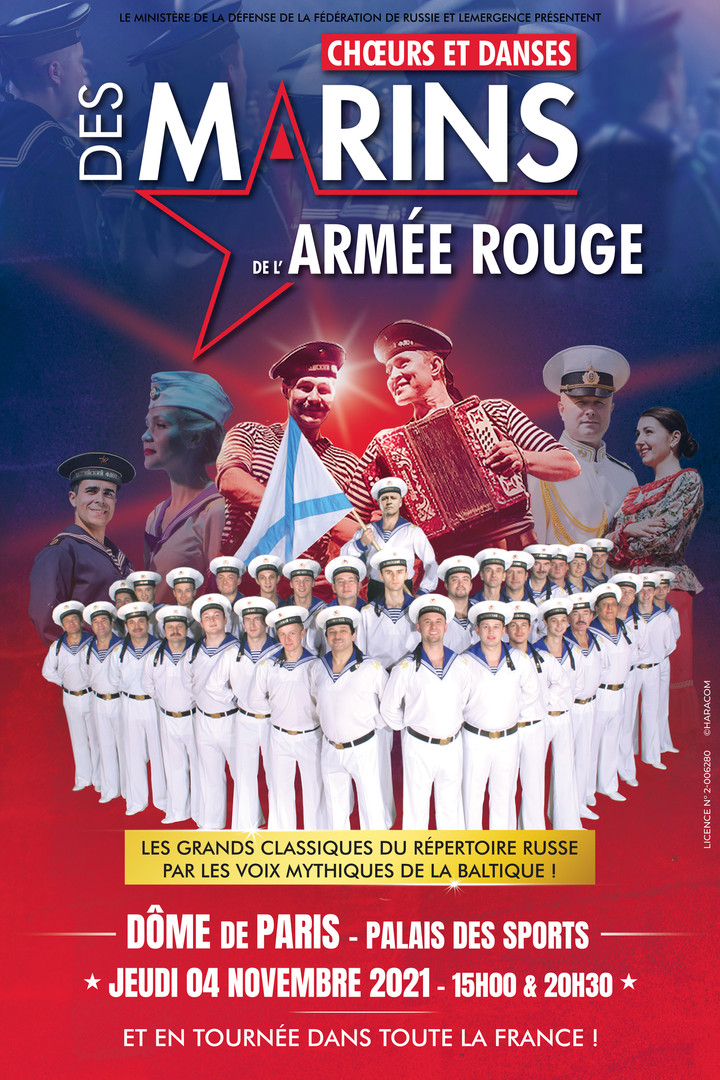 Choeurs et Danses des Marins de l'armée Rouge