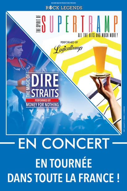 Rock Legends Dire Straits Supertramp