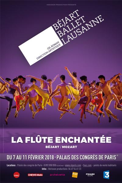 Béjart Ballet Lausanne La flûte Enchantée