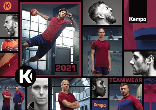 Kempa catalogue général Teamwear 2021