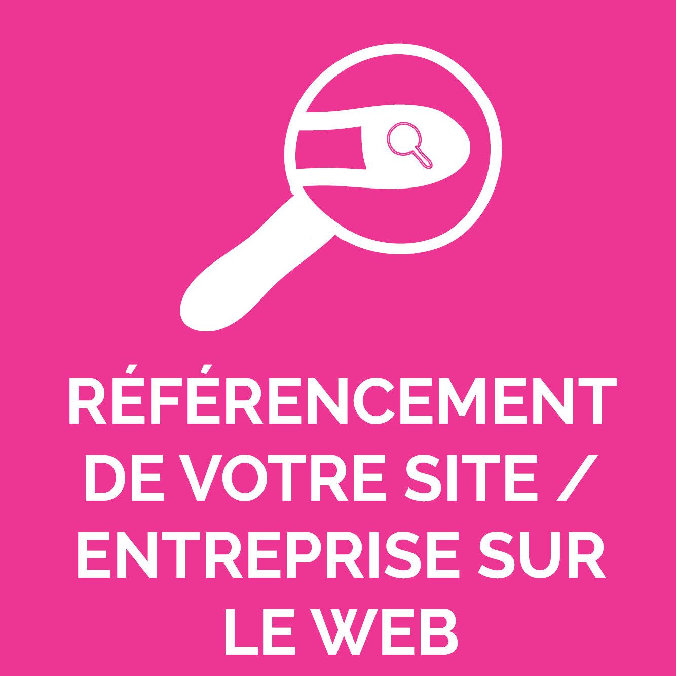 RÉFÉRENCEMENT WEB : SITE/ ENTREPRISE