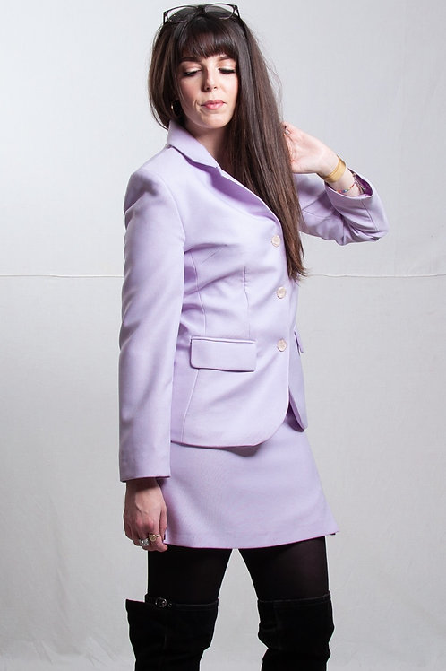 Le tailleur lila (XS/34/36)