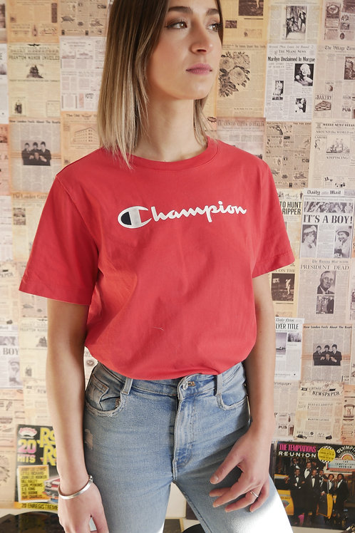 T-shirt Champion (Taille : S-M)