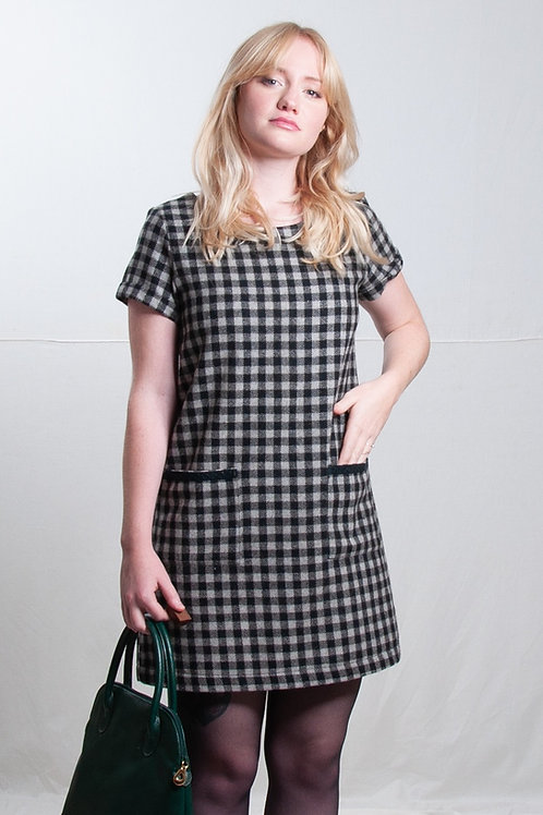 Robe Joséphine grise (taille S)