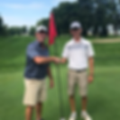 2018 Club Champion Caleb Christensen with Club President Brad Mathiowetz