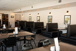 Seating at the Cottonwood Grill