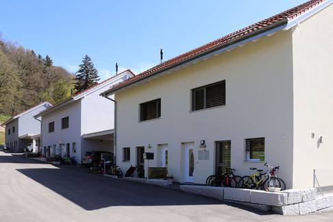 Construction de villas jumelées à Henniez