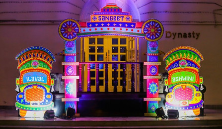 Quirky Themed Entrance Decor